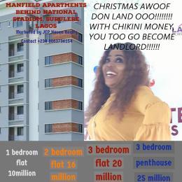 1 bedroom mini flat  Mini flat Flat / Apartment for sale Surulere Lagos