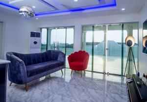 Penthouse Flat / Apartment for shortlet Atican beach  Okun Ajah Ajah Lagos