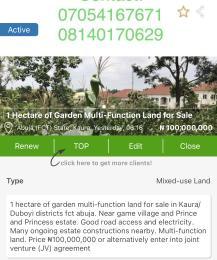 Joint   Venture Land Land for sale Kaura (Games Village) Abuja