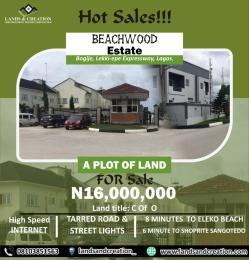 Residential Land Land for sale BEECHWOOD ESTATE, Along Lekki-Epe Expressway, Bogije, Lagos State  Bogije Sangotedo Lagos