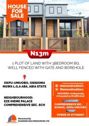 3 bedroom Detached Bungalow House for sale Okpu-Umuobo, Osisioma Ngwa L.G.A Aba, Abia State Aba Abia