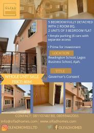 5 bedroom Detached Duplex House for sale Olokonla Ajah Lagos