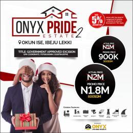 Residential Land Land for sale Okun Ise/Folu, After Eleko Town Eleko Ibeju-Lekki Lagos
