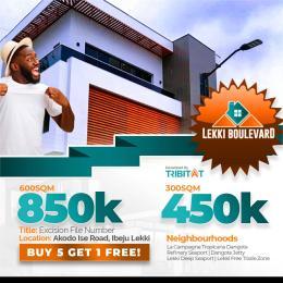 Land for sale  from LA, campagne tropicana resort Lagos Akodo Ise Ibeju-Lekki Lagos