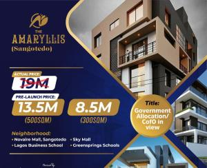 Residential Land for sale Amaryllis Estate Sangotedo Ajah Lagos