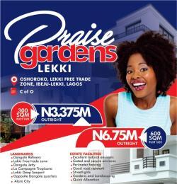 Mixed   Use Land Land for sale Praise Garden Oshoroko ibeju-Lekki Free Trade Zone Ibeju-Lekki Lagos