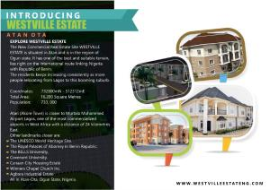 Residential Land Land for sale Westville Estate Ota-Idiroko road/Tomori Ado Odo/Ota Ogun