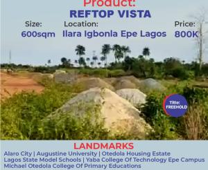 Mixed   Use Land for sale Reftopvista Estate Epe Lagos