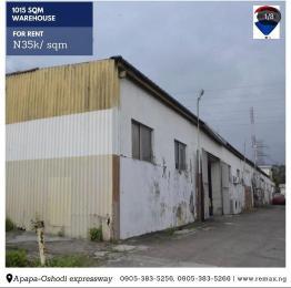 Warehouse for rent Oshodi Expressway Oshodi Lagos