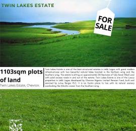 Residential Land Land for sale Twin lake estate chevron Lekki Lagos