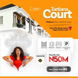 4 bedroom Semi Detached Duplex House for sale Mega Chicken Ikota Lekki Lagos