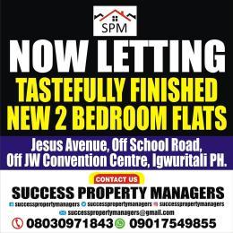 3 bedroom Mini flat Flat / Apartment for rent Igwuritali,portharcourt,rivers State Port Harcourt Rivers