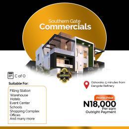 Commercial Land Land for sale Free Trade Zone Ibeju-Lekki Lagos