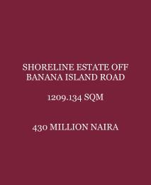 Residential Land Land for sale Off Banana Island Road  Banana Island Ikoyi Lagos