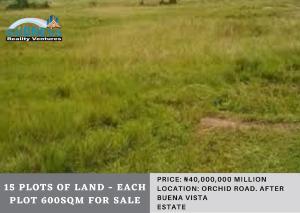 Joint   Venture Land Land for sale  Orchid Road. After Buena Vista Estate Ikota Lekki Lagos