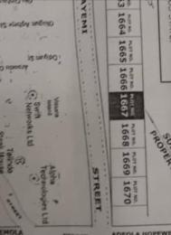 Land for sale Off Ademola Adetokunbo Victoria Island Lagos