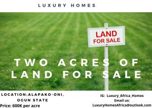 Mixed   Use Land Land for sale Alapakooni Obafemi Owode Ogun