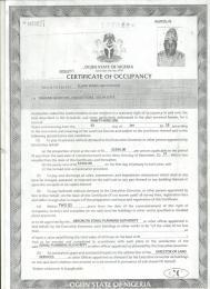 Residential Land for sale Directly Opposite Oopl Kuto Abeokuta Ogun
