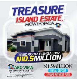 3 bedroom Detached Bungalow House for sale Orilemo Mowe Ofada Ofada Obafemi Owode Ogun