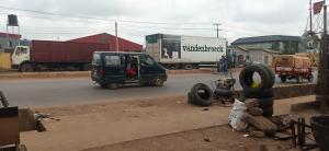 Commercial Land Land for sale Oando bustop beside VIO Office Sango otta  Erinko Ado Odo/Ota Ogun