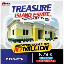 2 bedroom Detached Bungalow House for sale MOWE-OFADA  Mowe Obafemi Owode Ogun