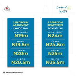 2 bedroom Terraced Duplex House for sale Camber wall Court Phase 2 Abijo Ajah Lagos