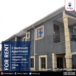 2 bedroom Blocks of Flats for rent Ologolo Lekki Lagos