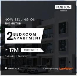 2 bedroom Blocks of Flats House for sale The Milton Home Awoyaya Ajah Lagos