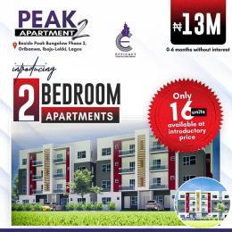 2 bedroom Mini flat Flat / Apartment for sale De Castle Estate ,awoyaya Oribanwa Ibeju-Lekki Lagos