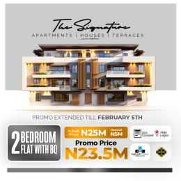 2 bedroom Blocks of Flats House for sale Off plan 2 bedroom apartment with BQ At Abijo Abijo Ajah Lagos