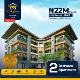 2 bedroom Mini flat Flat / Apartment for sale Halleyvine Residences Near Novare Shoprite Monastery road Sangotedo Lagos