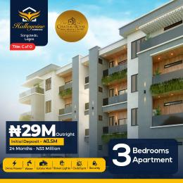 3 bedroom Self Contain for sale Halleyvine Residences, Near Novare Shoprite Monastery road Sangotedo Lagos