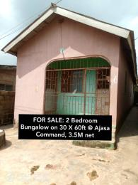 2 bedroom Detached Bungalow House for sale Ajasa command Ipaja road Ipaja Lagos