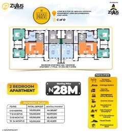 2 bedroom Flat / Apartment for sale By Ajiwe Bus Stop Abraham adesanya estate Ajah Lagos
