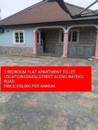 2 bedroom Flat / Apartment for rent odudu street  Igbogbo Ikorodu Lagos