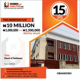 2 bedroom Blocks of Flats House for sale Obanikoro Shomolu Lagos
