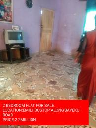2 bedroom Self Contain Flat / Apartment for sale Emily bustop  Igbogbo Ikorodu Lagos