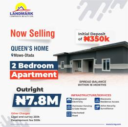 2 bedroom Semi Detached Bungalow House for sale Mowe/Ofada Arepo Arepo Ogun