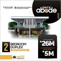 2 bedroom Semi Detached Duplex House for sale Bogije Sangotedo Lagos