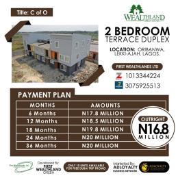 2 bedroom Terraced Duplex House for sale Peninsula Estate Ajah Lagos