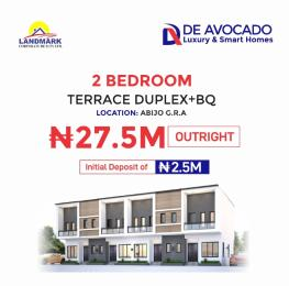 2 bedroom Terraced Duplex House for sale Well developed vicinity with impeccable facilities Abijo GRA Abijo Ajah Lagos