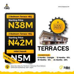 Terraced Duplex House for sale Lekki Pride Estate With C Of O Ajiwe Bus Stop Abraham Adesanya Roundabout Lekki Epe Expressway Ajiwe Ajah Lagos