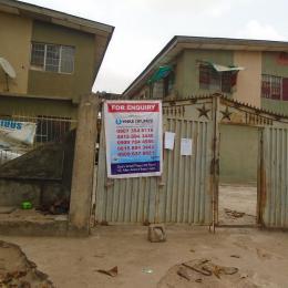 3 bedroom Blocks of Flats House for sale Clem Road, Ojokoro-Ijaiye. Ojokoro Abule Egba Lagos