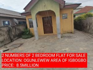 2 bedroom Terraced Bungalow House for sale 6 abadek close off ogunlewe igbogbo ikorodu  Igbogbo Ikorodu Lagos