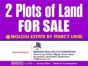 Residential Land Land for sale Iboloji Estate, By Mercyland PH Obio-Akpor Rivers
