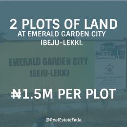Serviced Residential Land Land for sale Emerald Garden City Ibeju-Lekki Lagos