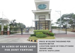 Joint   Venture Land Land for sale Back Of Fidelity Bank (Sugar Land Estate) Ikota Lekki Ikota Lekki Lagos