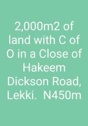 Mixed   Use Land Land for sale Off Hakeem Diskson Lekki Phase 1  Lekki Phase 1 Lekki Lagos