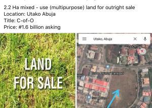 Mixed   Use Land Land for sale Utako Abuja