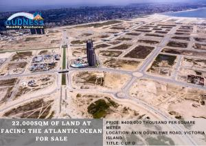 Land for sale Akin Ogunlewe Road, Victoria Island Lekki Phase 1 Lekki Lagos